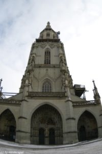 berne minster tower fisheye center