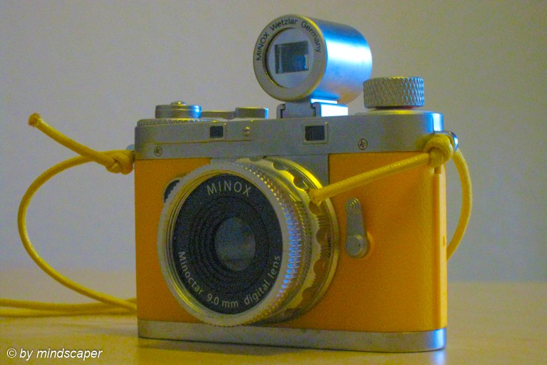 Rangefinder Vintage Camera Yellow