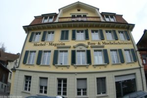 4-stores house in berne