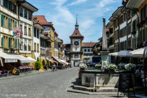 Murten - Morat - Old Center & Berntor - City Traveller