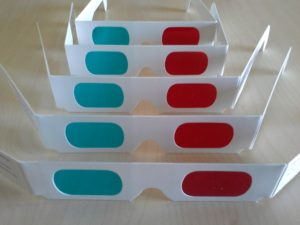 MindScaper Anaglyph Glasses Standing