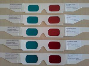 MindScaper Anaglyph Glasses flat