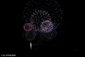 swiss National Day Firework 2015 Berne