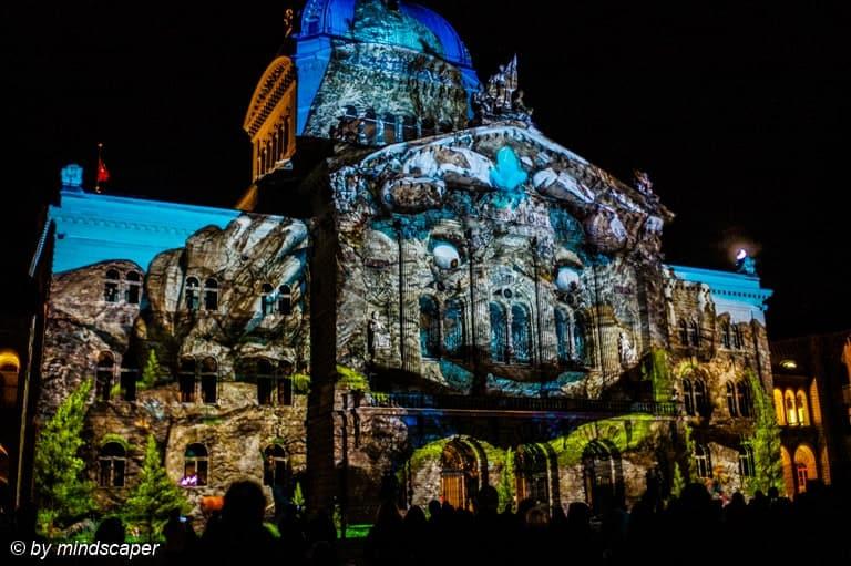 Rendez-Vous Bundesplatz Bern 2015 - Lightshow