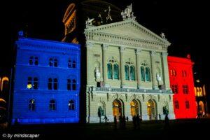 Silence Pour Paris à Berne - 16.11.2015