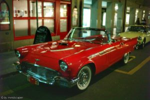 Red Oldtimer Vintage Car - Transportation