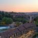 After a Summer Sunset at Münsterplattform - Berne in HDR