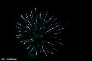 swiss National Day Firework 2017 Berne