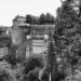 Senkeltram from the SIde - Berne in Black & White