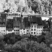 Old Matte Houses - Berne in Black & White