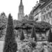 Berne Minster from Erlacherhof Terrace - Berne in Black & White