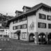 Theater Matte, Untertorbridge and Felsenburg - Berne in Black & White