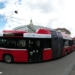 Bus at Central Station - Berne Fisheye