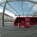 Berne Cental Station Tram with Baldachin Roof - Berne Fisheye