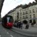 Tram in Marktgasse - Berne Fisheye