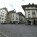 City Hall Square with Volver Bar Tapas Café - Berne Fisheye
