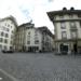City Hall Square with Volver Bar Tapas Café - Berne Fisheye