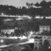 Felsenburg and Rosengarten - Berne by Night in Black And White