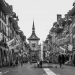 Kramgasse with Zytglogge - Berne in Black & White
