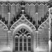 Berne Minster Tower Ornaments - Berne by Night in Black And White