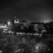 Historical Museum - Berne by Night in Black And White