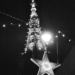 Xmas Star with Minster Top in B&W