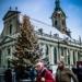 Snowed Xmas Tree With Heiligeistkirche - Berne