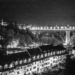 Kirchenfeld Bridge and Matte - Berne by Night in Black & White