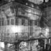 Volver Bar Tapas Café Building Clothed Like Christo Art by Night