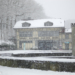 Snowing at Bärengraben und Tramdepot - Berne