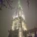 Berne Minster in December Fog - Berne by Night
