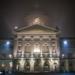 Bundeshaus at Foggy December Night - Berne by Night