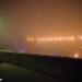 Foggy December Light at Minsterplattform - Berne by Night