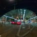 Berne Central Station - Fisheye HDR by Night