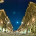 Kramgasse - Berne Fisheye HDR by Night