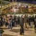 Drinking Glühwein @ Platzhirsch Xmas Market - Waisenhausplatz - Berne by Night
