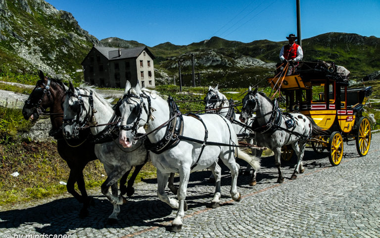 Gotthard Postkutsche - Legendary Post Carriage San Gotthard - Carrozza Postale Passo San Gottardo