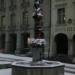 Snowed Justice Fountain - Berne in Winter