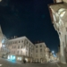 City Hall Square And Volver Bar Tapas Café - Rathausplatz - Berne by Night in Fisheye HDR