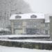 Snowing at Bärengraben und Tramdepot - Berne in Winter