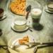 Swiss Apple Pie and Latte Machiato - Coffee Time