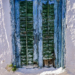 Old Blue Window - Mediterranean Spirit