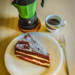 Coffee Break with Cake and Green Caffetiera - Coffee Time