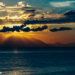 Sunrise with Clouds at the Mediterranean - Sky Stories