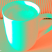Cappuccino Photo Art Psychedelic - Coffee Photo Art
