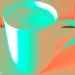 Cappuccino Photo Art Psychedelic - Coffee Photo Art