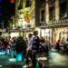 Caffè des Pyrennées at Night - Berne by Night