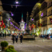 Summertime on a Friday Night in Kramgasse - Berne by Night