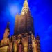 Berne Minster Tower - Berne by Night