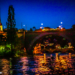 Nydegg Church and Bridge at Night - Berne by Night